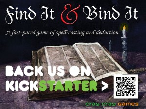 Tweet our URL and #FnBKS to support our Kickstarter!